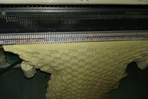 picture of knitting close up