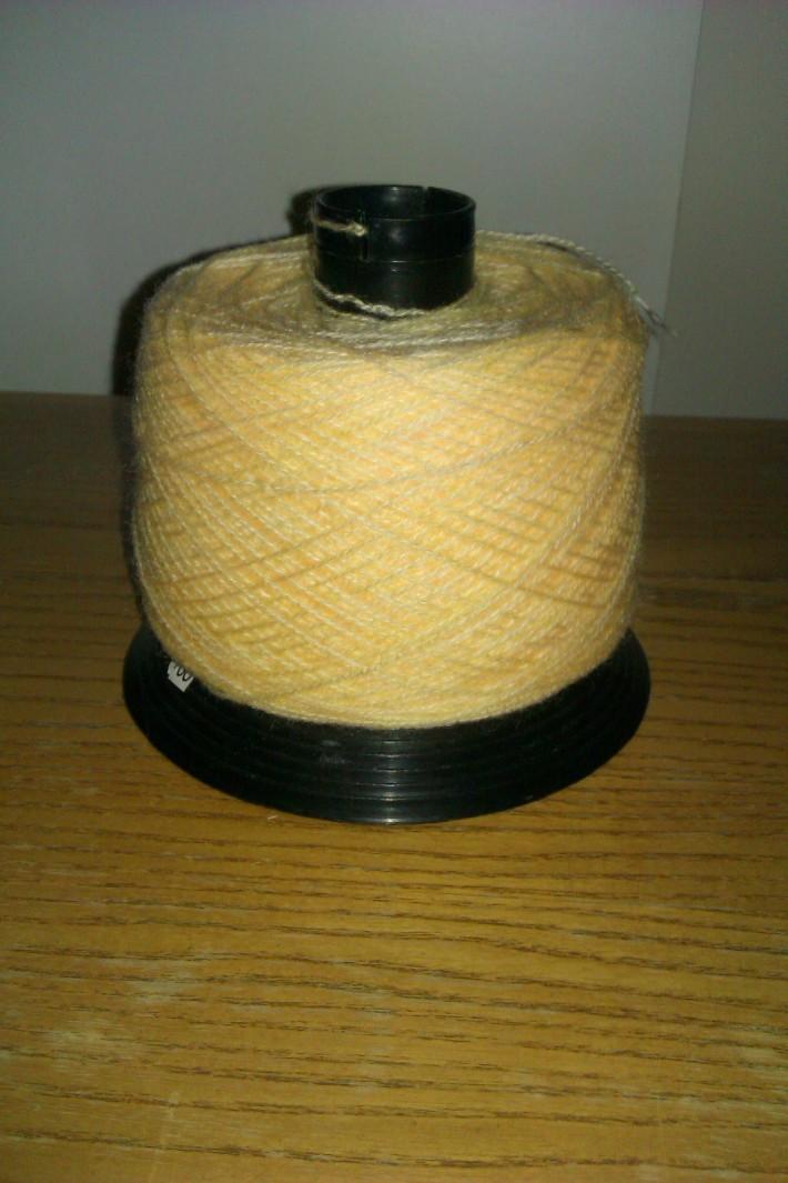 yarn unwound