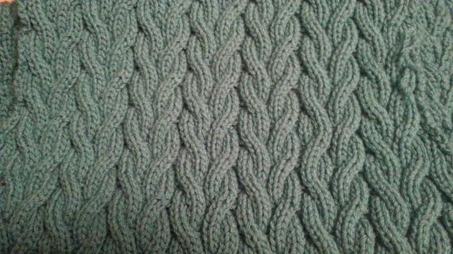 knitting mistake