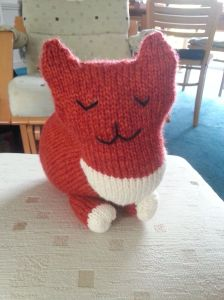 Knitted Parlor Cat