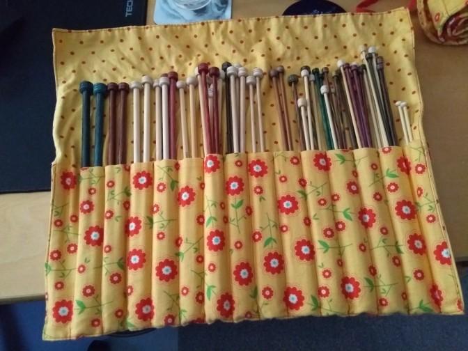 knitting needle wrap