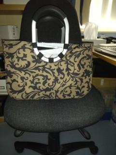 larger knitting bag